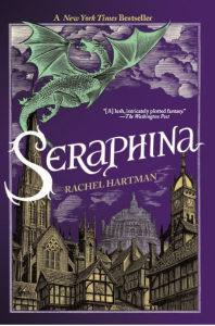 Seraphina, a 2012 fantasy, was Rachel Hartman's debut novel.