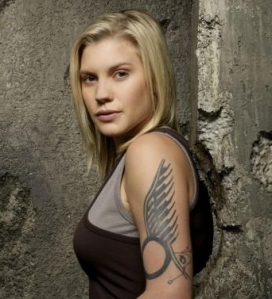 Kara Thrace, destroyer of science fiction and culture.