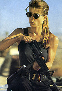 Sarah Connor, acting like a man—or maybe a mother. ...Can someone do a spreadsheet?!